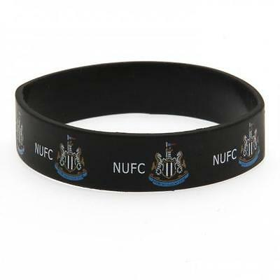 *OFFICIAL*Newcastle United F.C.  Rubber WRISTBANDS (Silicone) One Size Fits All