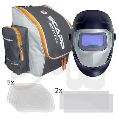 SPEEDGLAS 9100 V Automatik Schweißhelm Schweißmaske SET Schweißerschutzhelm