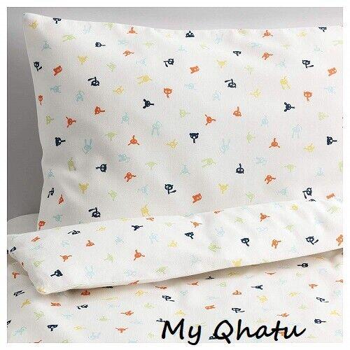 IKEA Stjarnbild Crib Duvet Cover Children Cover Duvet + Pillowcase NEW