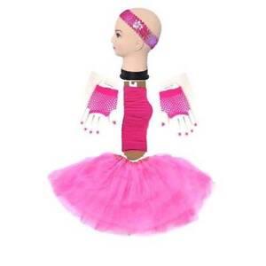 Hotpink Short-Glove TUTU 4 Set Skirt Socks Kids/Girl/Lady S/L Homebush West Strathfield Area Preview