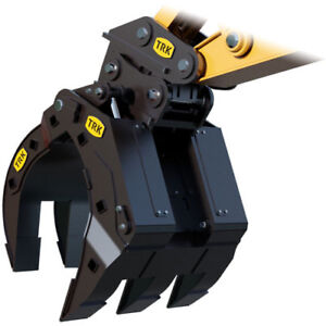 Excavator Attachments - GRAPPLES FOR SALE