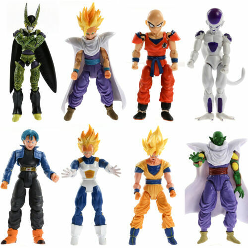 Model:Dragonball Z:Justice League/Dragonball Z/The Avengers/FNAF/Sonic The Hedgehog Action Figures