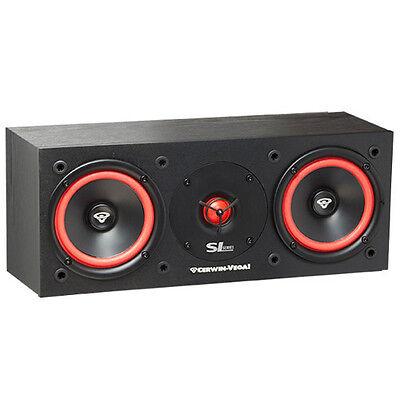 """Cerwin Vega SL-25C Dual 5 1/4"""" Center Channel Speaker 150 Watt Home Theater SL25"""