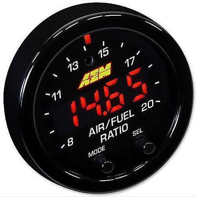 AEM X-Series ODBII Wideband UEGO AFR Sensor Gauge Controller # 30-0334 30-0333