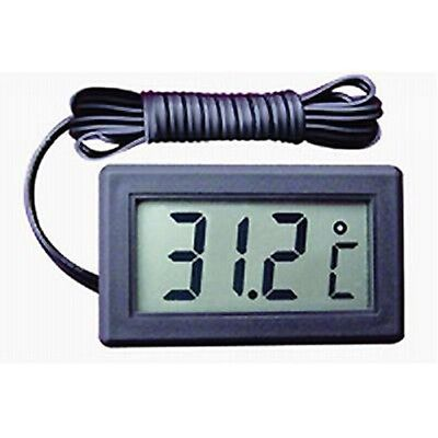 Digital Mini Einbau Thermometer Digitalthermometer Kühl Kontrolle -50°~+80°C