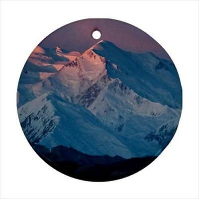 Mount McKinley Alaska Denali National Park Christmas Ornament Great Gift! ()