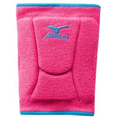 Mizuno Women's LR6 Highlighter Knee Pad, Pink/Diva Blue, Medium No-Fold Design