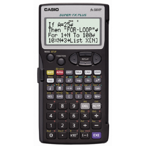 Casio FX-5800P Scientific Program Calculator Engineer Premium Math Equipment