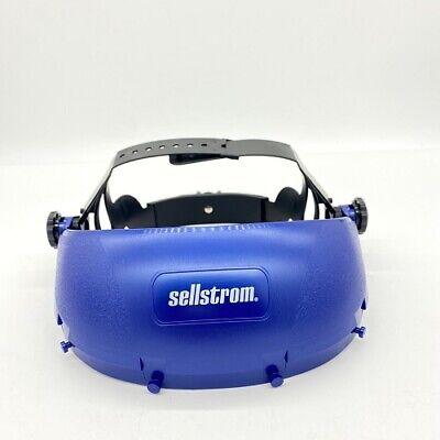 Sellstrom Face Shield S390010 Single Crown Pin Lock Suspension Headgear