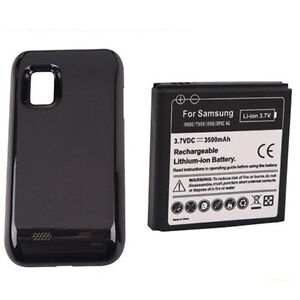 3500mAh Extended Battery + Cover for Samsung Galaxy S Fascinate Mesmerize i500