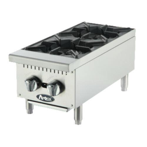 Atosa Athp-12-2 Countertop Gas Cookrite Hotplate