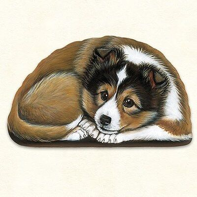 Fiddlers Elbow SHELTIE Dog Pupper Weight Paperweight Decoration Made in USA