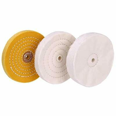 6 inch Buffing Polishing wheel 1/2 Inch Arbor Hole for Bench Grinder Buffer T...