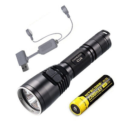 Nitecore CU6 Ultraviolet LED Flashlight - 440Lm w/ NL183 Battery + A1 Charger for sale  Shipping to India