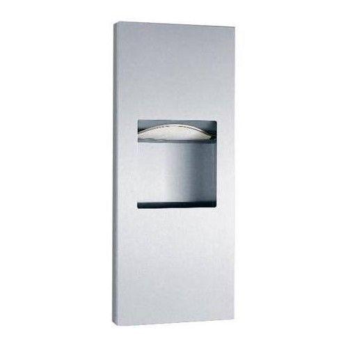 Bobrick B-36903 Recessed Paper Towel Dispenser/Waste Receptacle