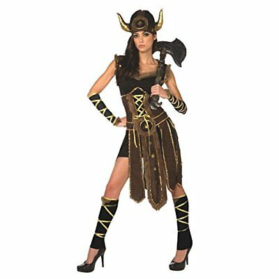 Womens Viking Costume Female Vikings Clothing Nordic Warrior Dress For Women](Female Viking Warrior Costume)
