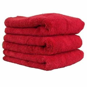 Chemical Guys: Fluffer Miracle Supra Microfiber Towels, 3 Pack.