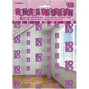 18th birthday decorations partyware ebay for 18th birthday decoration