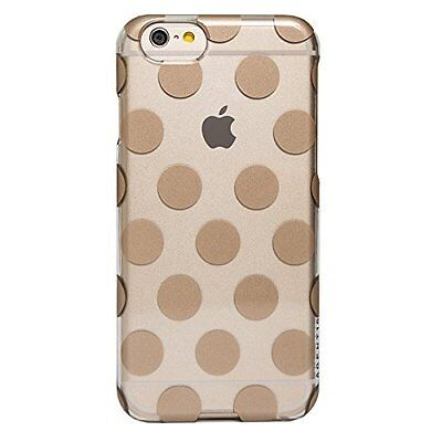 AGENT18 iPhone 6 / iPhone 6S Case Slimshield Clear / Gold Dots Cover 1D Agent 18 Clear Case