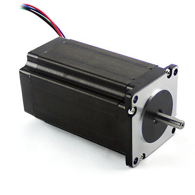 Nema23 381ozin 3.5a Single Shaft Stepper Motor Kl23h2100-35-4a 0.9 Degres