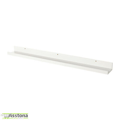 2 Stück IKEA MOSSLANDA Bilderleiste in weiß Bilderrahmen Fotorahmen 115cm