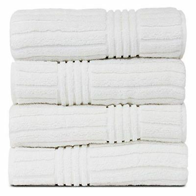 Bare Cotton 852-1501-01 Luxury Hotel & Spa Ribbed Channel Pa