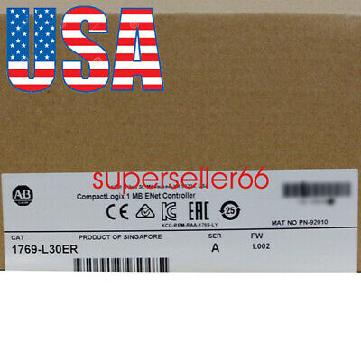Pro Ab Allen Bradley 1769-l30er A Plc Compactlogix 1mb Ethernet Controller Fda