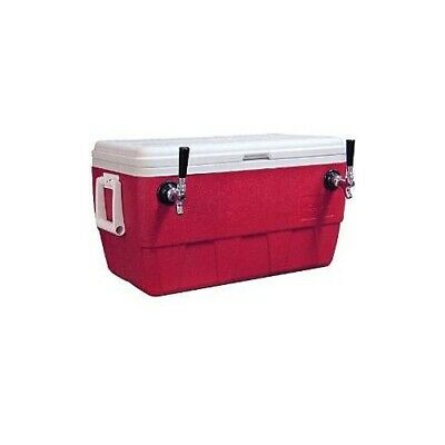 Ny Brew Supply Jockey Box Cooler - 2 Faucet 120 Stainless Steel Coils 52qt