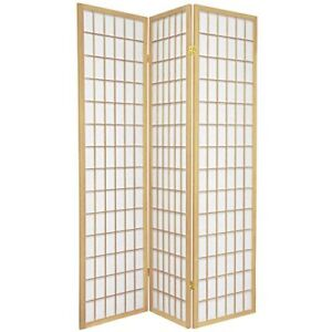 Japanese Style Room Divider, 3 Panels