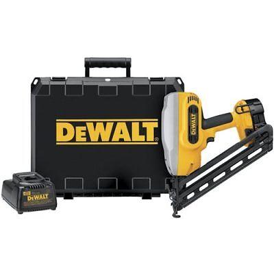 DeWALT DC628K 18V Cordless Angled Finish Finishing Nailer Nail Gun Tool Kit