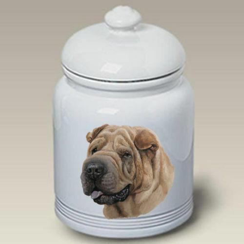 Shar Pei Ceramic Treat Jar LP 45053