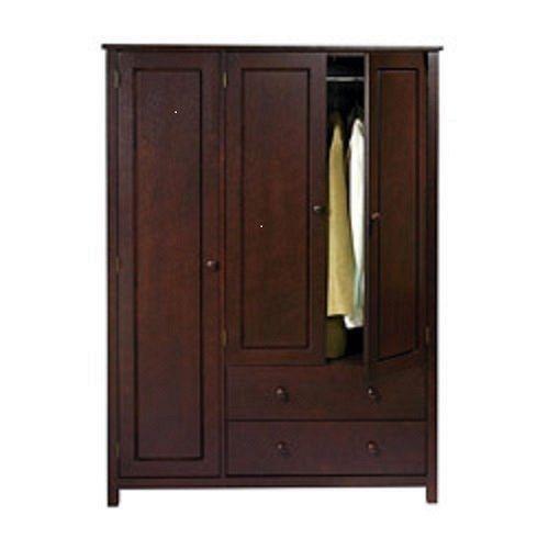 wardrobe closet armoire ebay. Black Bedroom Furniture Sets. Home Design Ideas