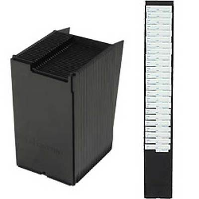 25 Pocket Time Card Rack Wall Mounted Time Card Holder