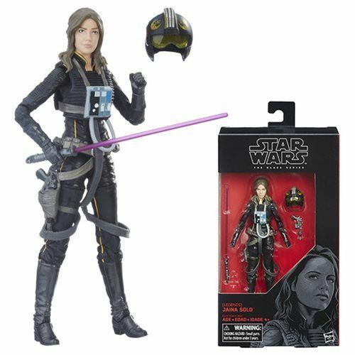 Купить Star Wars The Black Series Jaina Solo 6-Inch Action Figure In Stock!