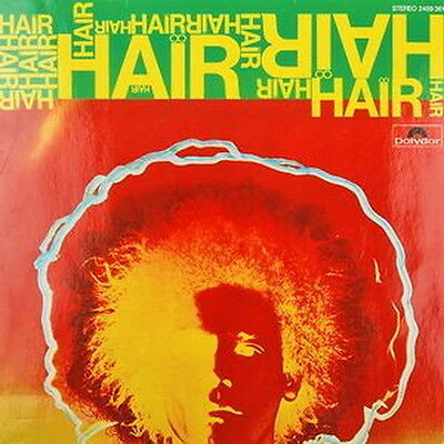 "12"" Hair (London Musical Production) Robert Stigwood 60`s Polydor"