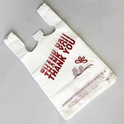 T-shirt Bag Thankyou Plastic Grocery Retail Carry Out Bags Large Mediumsmall
