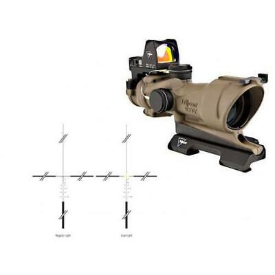Trijicon ACOG 4x32 Flat Dark Earth, Dual Illumination Green Crosshair Reticle