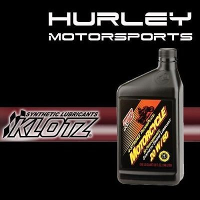 KLOTZ KL-850 Motorcycle TechniPlate Synthetic Oil - 20W/50 - 32 oz - Qty (1)