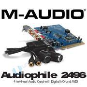 M-audio 2496