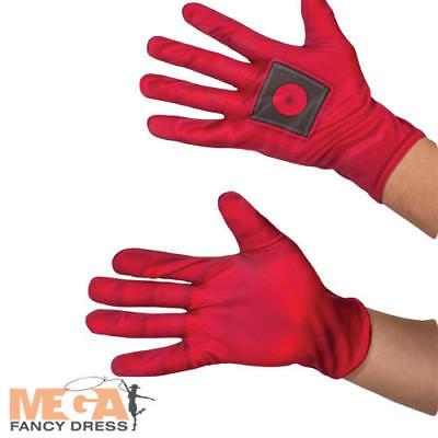 y Dress Marvel Book Day Adults Superhero Costume Accessory  (Deadpool Handschuhe)