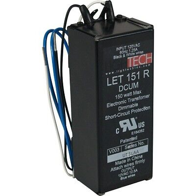 Lightech Let-151 Ac Electronic Transformer 110 To 12 Volt