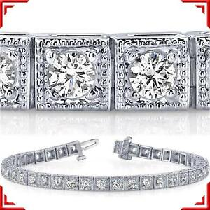 Antique Diamond Tennis Bracelet