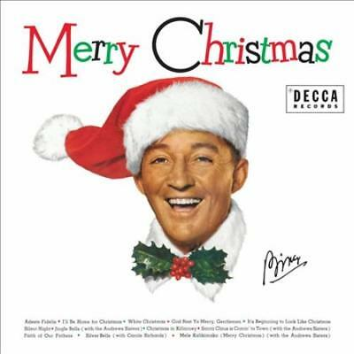 MERRY CHRISTMAS [VINYL] BING CROSBY NEW VINYL RECORD ()
