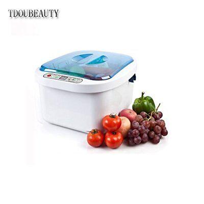 Dental 12.8l Home Use Ultrasonic Ozone Vegetable Fruit Sterilizer Cleaner Washer