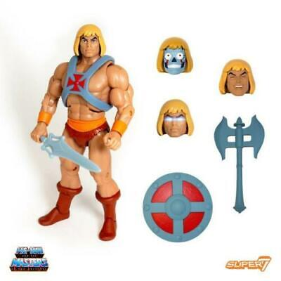Masters of the Universe Ultimates Grayskull Super 7 S7 HE-MAN /& squelettor figure filmation New Set