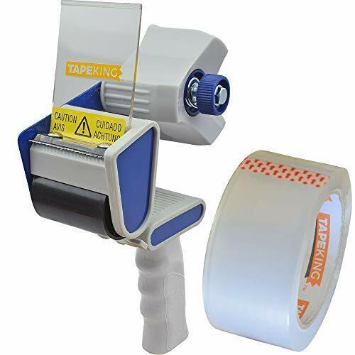 Tape King TX100 Packing Tape Dispenser Gun - Plus 1 Free Roll of Packaging Tape