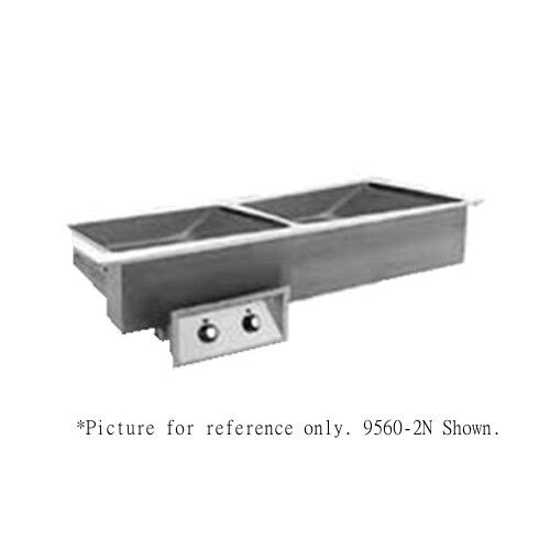 Randell 95602n-240z Electric Narrow Drop-in Hot Food Well - 240 Volt