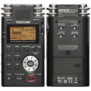 Tascam DR-100 Mk1 Portable Audio Recorder - Like New Zoom
