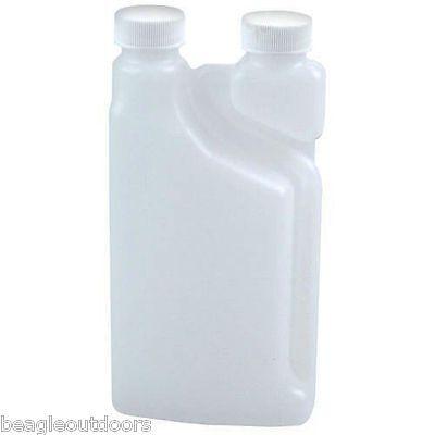 NEW Bettix Twin-Neck Measure & Pour Alcohol Fuel Dispensing Bottle 16oz 3-Pack