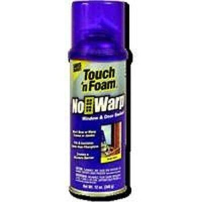 New Touch N Foam 12oz No Warp Window Door Foam Spray Insulation White 0228015